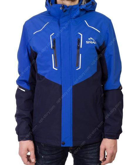 8332 син Куртка мужская S-3XL по 6