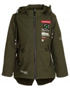 TH1802 зел. Куртка мальчик 140-164 по 5 (164)