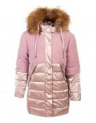 YS-1011-1 роз. Куртка девочка  122-146 по 5 шт.