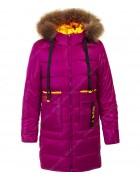 HM-1117  красный Куртка девочка 140-164 по 5