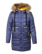 HM-1117 синий Куртка девочка 140-164 по 5