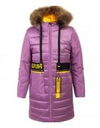 HM-1213  сирень Куртка девочка 134-158 по 5