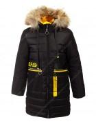HM-1213 черн. Куртка девочка 134-158 по 5