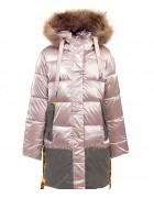 YS-1103 роз. Куртка девочка  116-140 по 5 шт