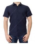 KD1311 синий Рубашка мужская S-XL по 4
