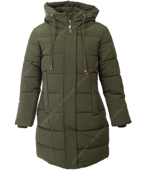 HL-622 хаки Куртка девочка  116-140 по 5