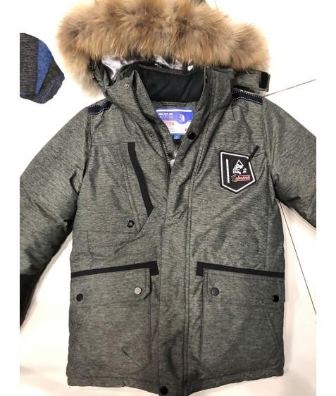 32421 сер. Куртка мальчик 128-152 по 5