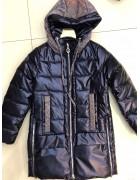 YS-1888 т.син Куртка девочка 134-158 по 5