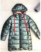 YS-1988 зел. Куртка девочка 128-152 по 5