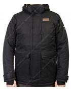 M-09  black Куртка мужская M-3XL по 5