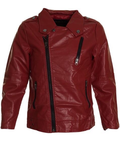 8836 красн.Куртка девочка 110-158 по 5 (158)