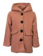 1-000 коричн Пальто девочка 100-130 по 4