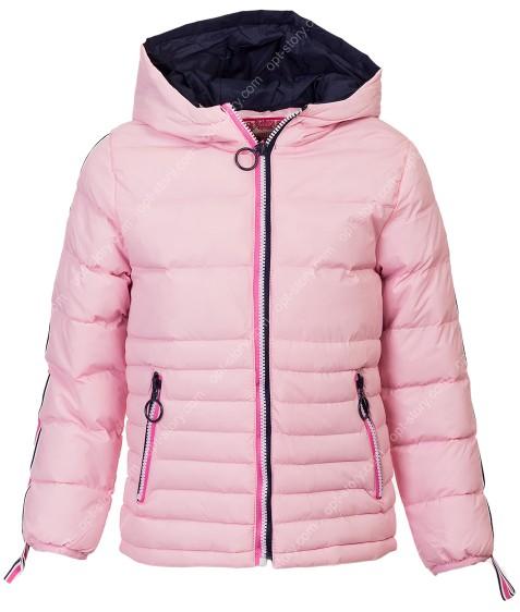 0519A пудра Куртка девочка 4-12 по 5