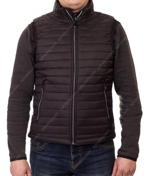 5623 чёрн Куртка мужская M-2XL по 4