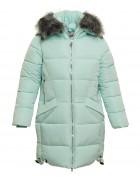 1742# мята(зел+фукси+пудра) Куртка девочка 128-152 по 5