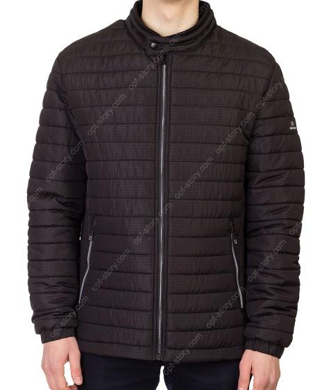5618 чёрн Куртка мужская 48-56 по 5
