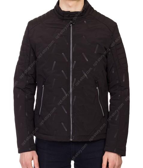 5622 чёрн Куртка мужская M-2XL по 4