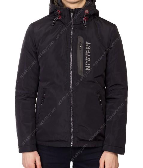 5691 т.син Куртка мужская M-2XL по 4