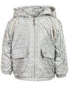 M09539 серый Куртка дев. 80-120 по 5