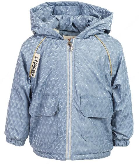 M09539 синий Куртка дев. 80-120 по 5