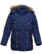 A8 синий Куртка мальчик 146-170 по 5
