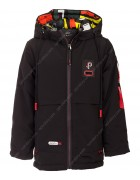 JKI-012 чёрн. Куртка мальчик 110-134 по 5