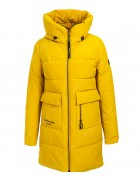 47382 желтый Куртка женская S-3XL по 6