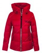 47375 красный  Куртка женская S-3XL по 6