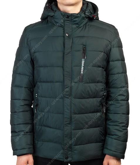 2038#7 зел. Куртка мужская 46-54(все 54) по 5