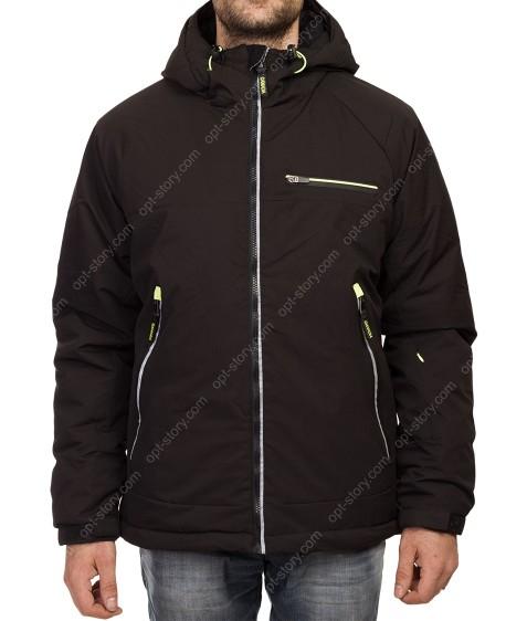 935 чёрн Куртка мужская M-2XL по 5