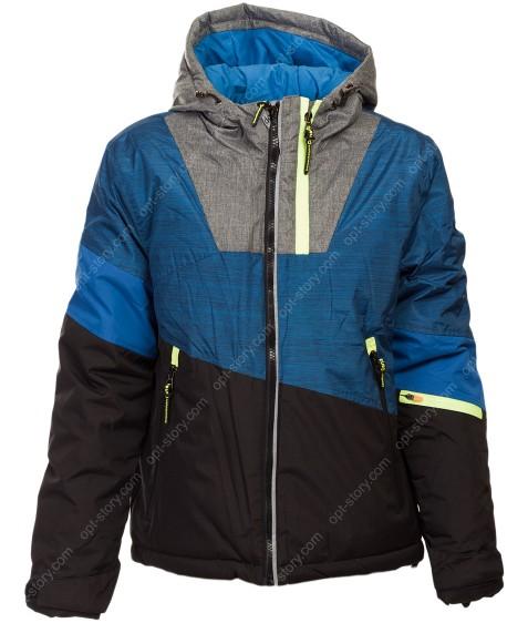 937A син Куртка мальчик 140-170 по 5