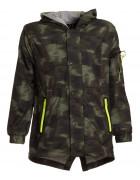 K834 зел. Куртка весна мальчик 8-16  по 5