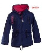 60530 GRACE  Куртка девочка 116-146 р.-6шт. прод. -12шт. СИНИЙ+