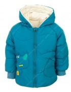 218011 зеленый Куртка детская динозаврик 90-130 по 5