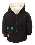 218011 черный Куртка детская динозаврик 90-130 по 5