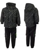 2035 зеленый Комплект ЗИМА мальчик 120-150 по 4