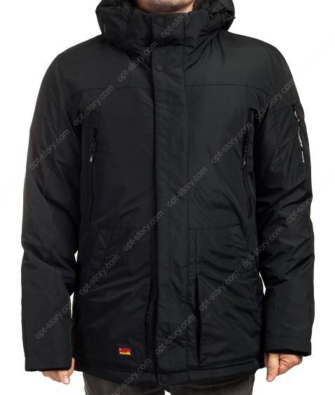 2065 черн. Куртка мужская 46-54 по 5