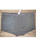 Трусики серые VanillaSecret размер M/L по 3 шт. арт. 0123