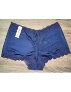 Трусики синие  VanillaSecret размер XL по 3 шт. арт. 0937