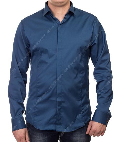 1212 307 Рубашка мужская дл.рукав S-2XL  по 5