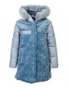 8983 голуб. Куртка девочка 116-140 по 5
