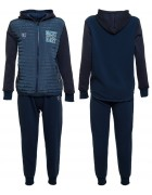 70421 синий Спорт костюм мальчик (на флисе) 134-164 по 6