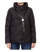 901 черный Куртка женская  M-2XL по 4