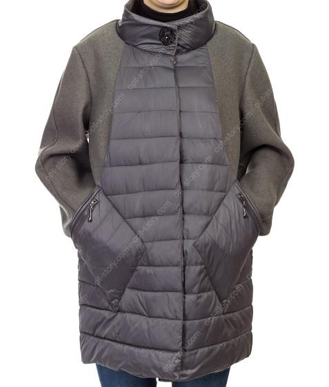 1862# сер Куртка женская 48-56 по 5