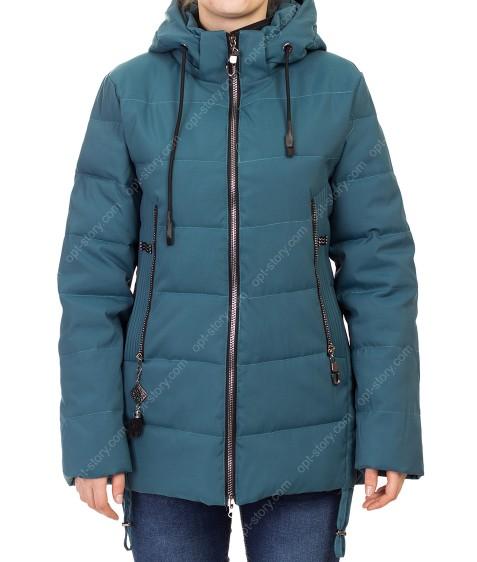 D-8907 зел Куртка женская 50-58 по 5