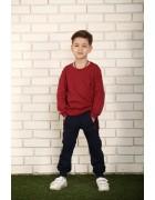 Реглан для мальчика синий 5-8 лет по 4  штуки 1802