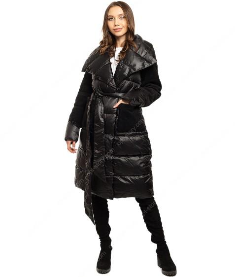 6208 черн. Куртка женская 36-42 по 4
