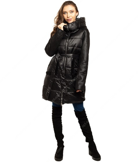 6203# черный Куртка женская еврозима  36-42 по 4