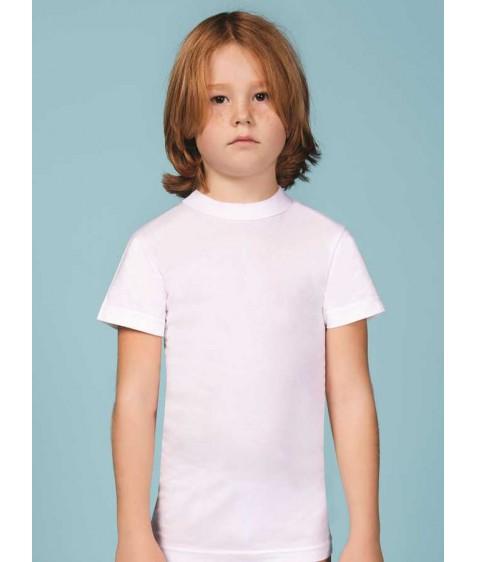 Футболка для мальчика белая размер 7 по 3 штуки 1503