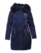YS-12# син.Куртка девочка 134-158 по 5